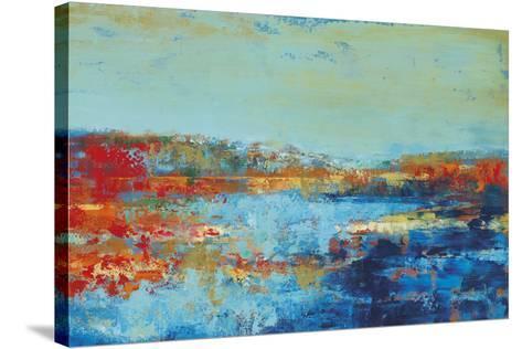 Shoreline Glimmer II-Georges Generali-Stretched Canvas Print
