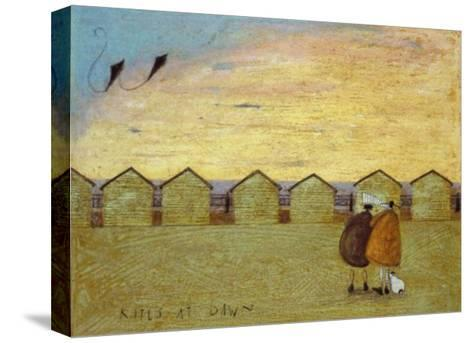 Kites at Dawn-Sam Toft-Stretched Canvas Print
