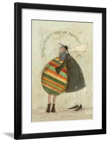 Remembering When We First Met-Sam Toft-Framed Art Print