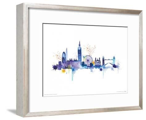 London Skyline Art Print by Summer Thornton | Art.com