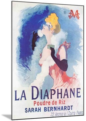 La Diaphane-Jules Ch?ret-Mounted Collectable Print