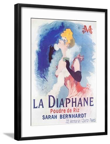 La Diaphane-Jules Ch?ret-Framed Art Print