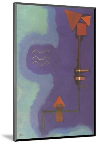 Tirant Sur Le Violet-Wassily Kandinsky-Mounted Collectable Print