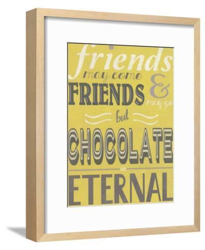 A Girl's Life I-Erica J^ Vess-Framed Art Print