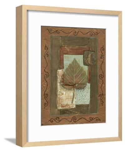 Leaf Quartet III-Wendy Russell-Framed Art Print