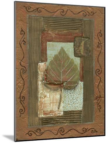 Leaf Quartet III-Wendy Russell-Mounted Art Print