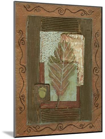 Leaf Quartet IV-Wendy Russell-Mounted Art Print