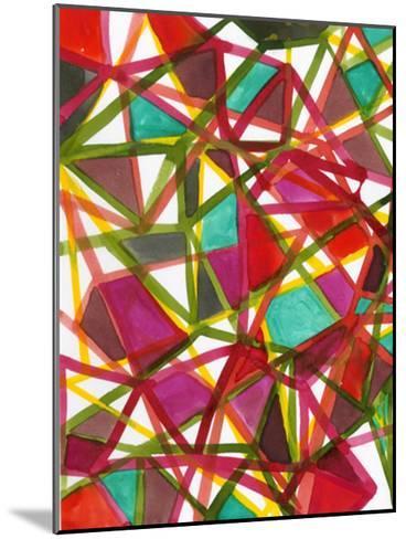 Prismatic I-Jodi Fuchs-Mounted Art Print