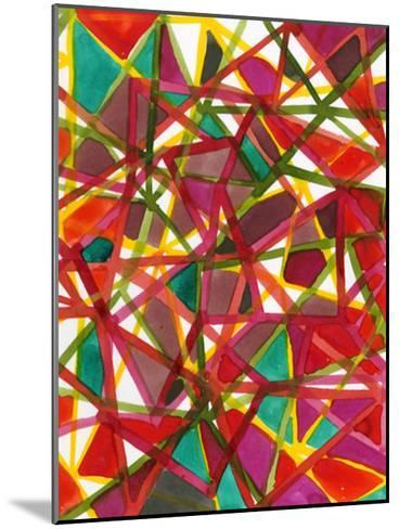 Prismatic II-Jodi Fuchs-Mounted Art Print