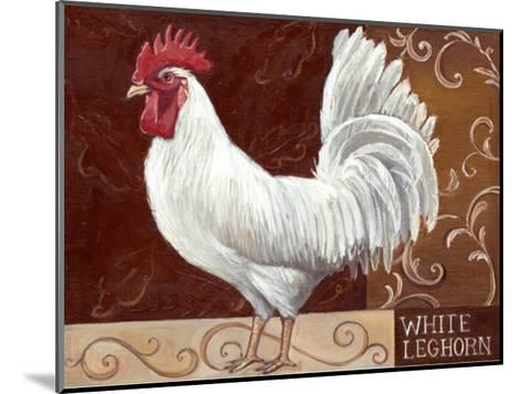 Rustic Roosters IV-Theresa Kasun-Mounted Art Print
