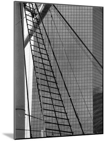 South Street Seaport III-Jeff Pica-Mounted Art Print