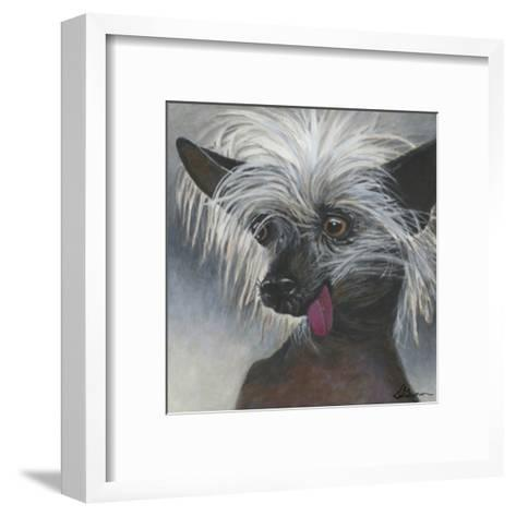 Dlynn's Dogs - Poe-Dlynn Roll-Framed Art Print