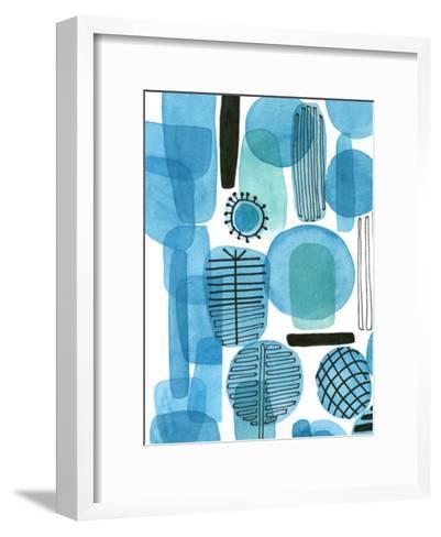 Mod Orbit I-Deborah Velasquez-Framed Art Print