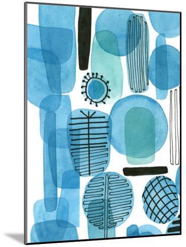 Mod Orbit I-Deborah Velasquez-Mounted Art Print