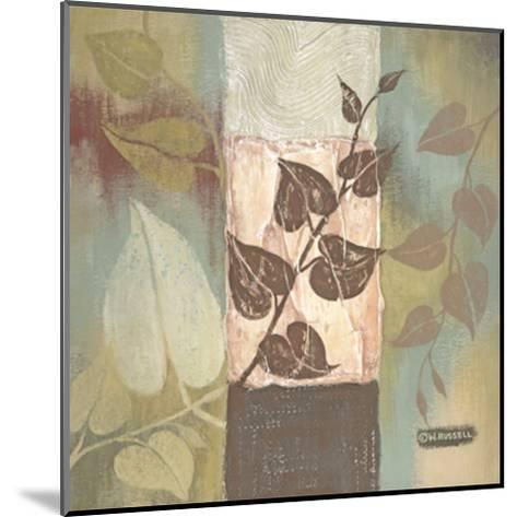 Clover Tile II-Wendy Russell-Mounted Art Print