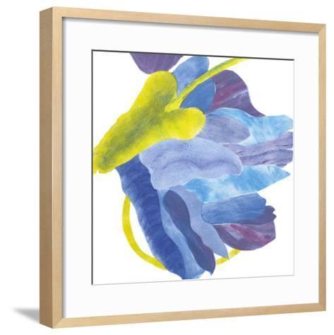 Sideways Indigo III-Carolyn Roth-Framed Art Print