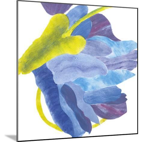 Sideways Indigo III-Carolyn Roth-Mounted Giclee Print