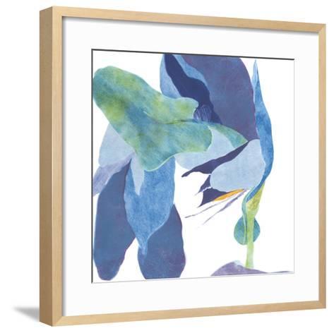 Surprise Indigo I-Carolyn Roth-Framed Art Print