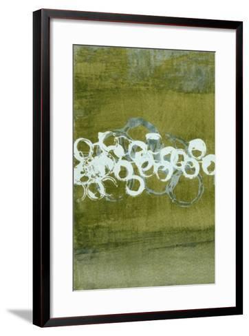 Green Orbs I-Charles McMullen-Framed Art Print