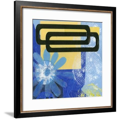 Smile IV-Deborah Velasquez-Framed Art Print