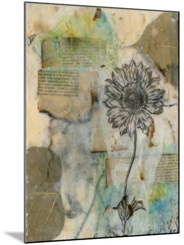 Vellum Floral I-Jennifer Goldberger-Mounted Giclee Print