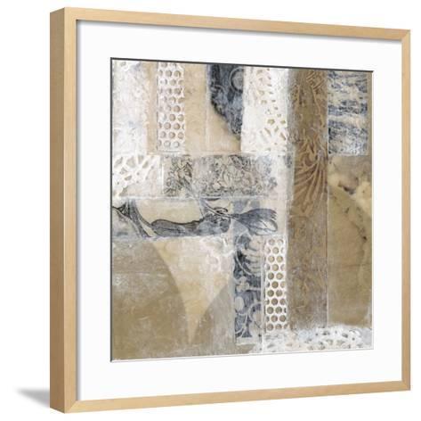 Lace Collage I-Jennifer Goldberger-Framed Art Print