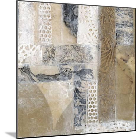 Lace Collage I-Jennifer Goldberger-Mounted Giclee Print