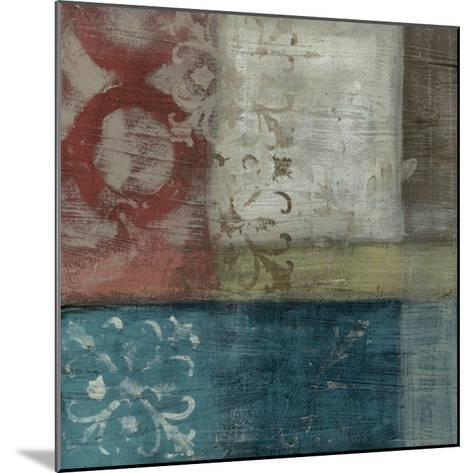 Heritage Abstract I-Erica J^ Vess-Mounted Giclee Print
