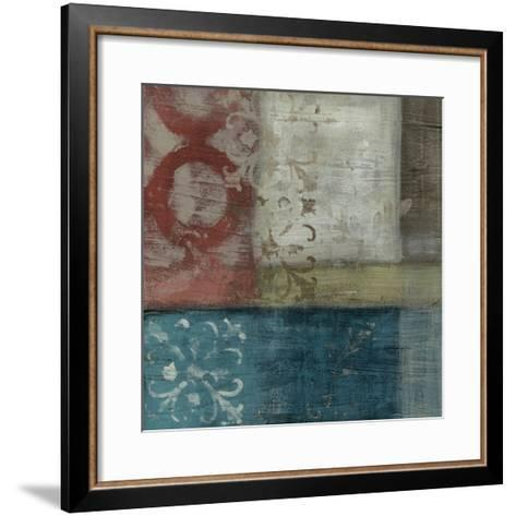 Heritage Abstract I-Erica J^ Vess-Framed Art Print