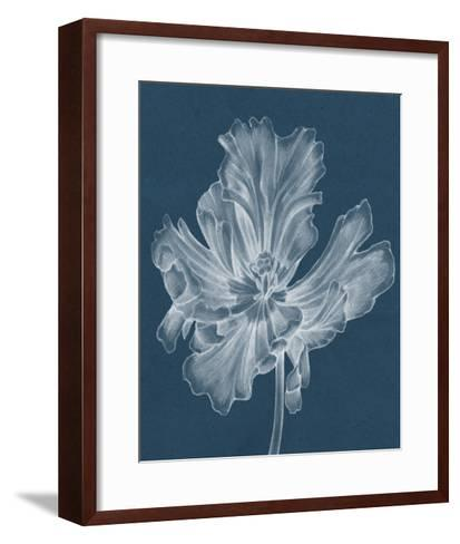 Monochrome Tulip II-Jennifer Goldberger-Framed Art Print