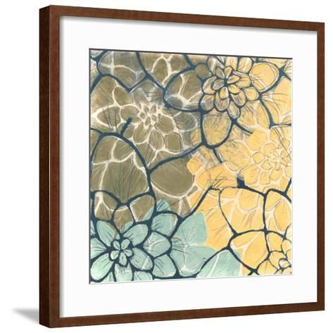 Dahlia Dance II-Jennifer Goldberger-Framed Art Print