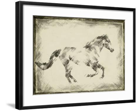 Equine Study I-Ethan Harper-Framed Art Print