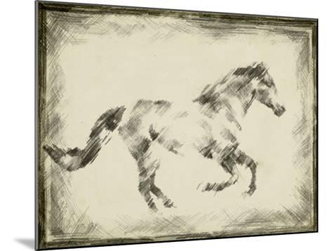 Equine Study I-Ethan Harper-Mounted Giclee Print