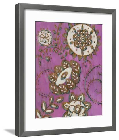 Radiant Ornament II-Chariklia Zarris-Framed Art Print