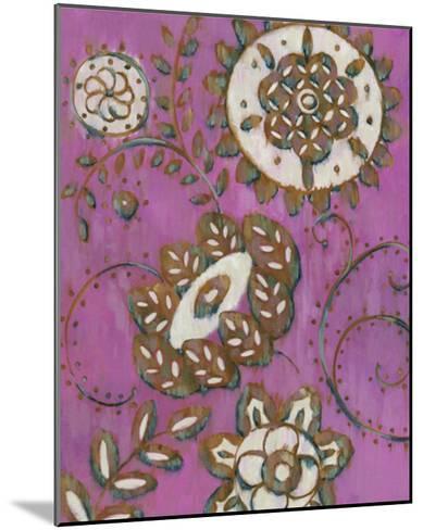 Radiant Ornament II-Chariklia Zarris-Mounted Giclee Print