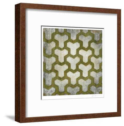 Spectrum Symmetry IV-Chariklia Zarris-Framed Art Print