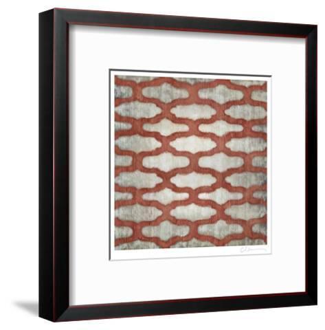 Spectrum Symmetry VI-Chariklia Zarris-Framed Art Print