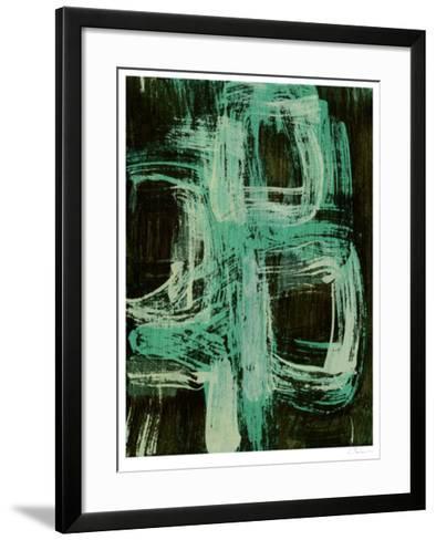 Aquamarine Windows I-Charles McMullen-Framed Art Print