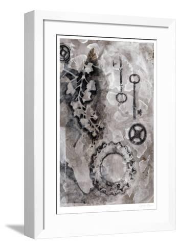 Juxtaposition II-Jennifer Goldberger-Framed Art Print