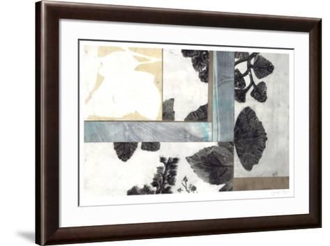 Leaf Remnants I-Jennifer Goldberger-Framed Art Print