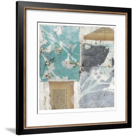 Vellum & Lace I-Jennifer Goldberger-Framed Art Print