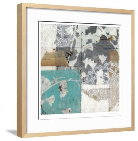Vellum & Lace II-Jennifer Goldberger-Framed Art Print