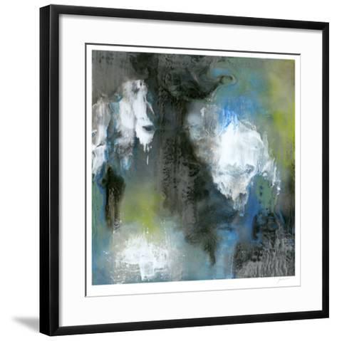 Peace of Mind in Blue II-Ferdos Maleki-Framed Art Print