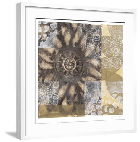 Iron Filigree II-Jennifer Goldberger-Framed Art Print