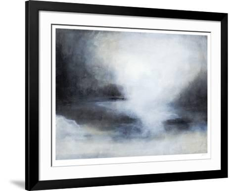 Misty Morning Horizon-Ferdos Maleki-Framed Art Print