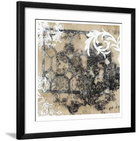 Infused Lace I-Jennifer Goldberger-Framed Art Print