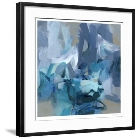 Charlotte Blue-Christina Long-Framed Art Print