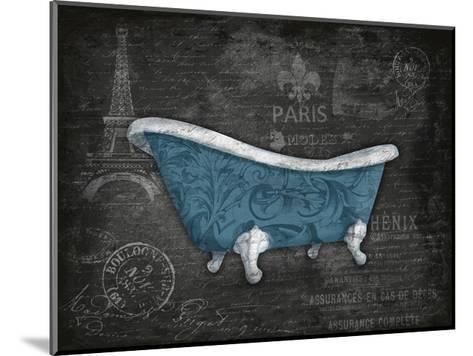 Blue Bath-Jace Grey-Mounted Art Print