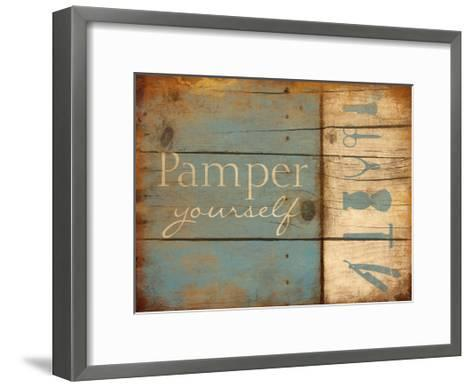 Pamper Yourself-Jace Grey-Framed Art Print