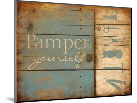 Pamper Yourself-Jace Grey-Mounted Art Print